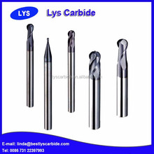 2 or 3 or 4 or 5 or 6 flutes ball nose tapered end mill