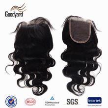 Qingdao factory wholesale closure virgin brazilian human hair lace closure