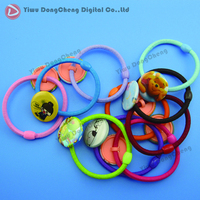 25mm DIY Baby Hair Rubber Band Accessories Buttons
