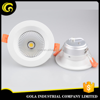 Australia Standard SMD Dimmable 5w LED down light with cut out 99mm, led down light with light 120degree
