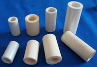 High temperature alumina ceramic shaft sleeve