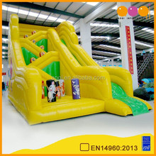 Newest design popular cartoon Tom and Jerry large inflatable slide for sale