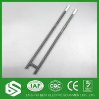 Rod type sic heating element for electric furnace heater