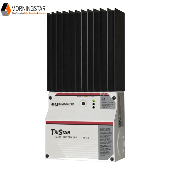 Morningstar PWM Solar Power <strong>Controller</strong> TS-60 Tristar with Wind Solar Hybrid Charge <strong>Controller</strong> Function