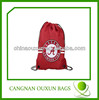 foldable Waterproof 100% Polyester Drawstring Bag