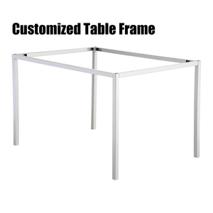 Furniture Manufacturer Customized Office Desk Steel Metal Table Frames