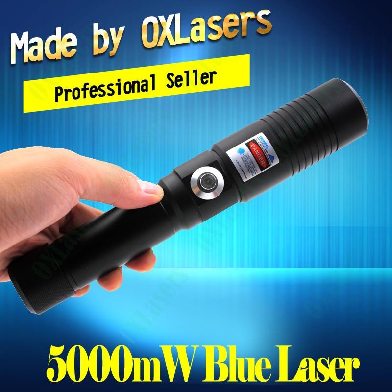 De Meest Krachtige Oxlasers Brandende Laser 5000mw 5w