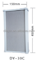 Aluminium alloy Pillar speaker 30W DY-C Series for public address systems