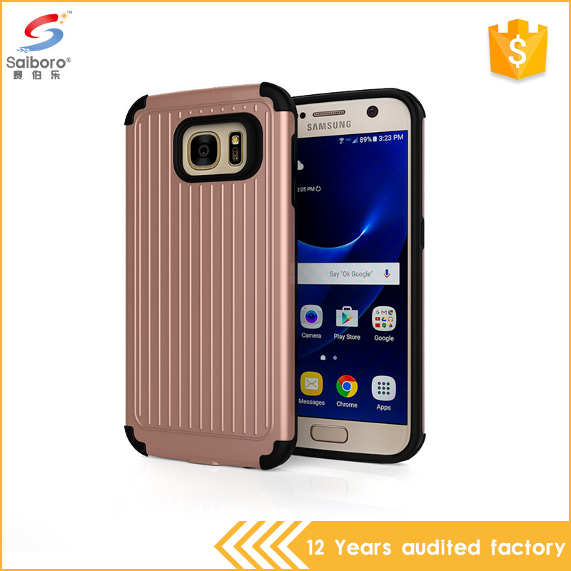Phone accessories tpu pc cover for samsung galaxy s7 edge, for samsung s7 edge case cover