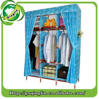 Collapsible Wholesale Wardrobe Cheap Simple Bedroom