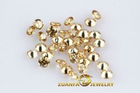 factory direct supply round cut champagne cubic zirconia gems
