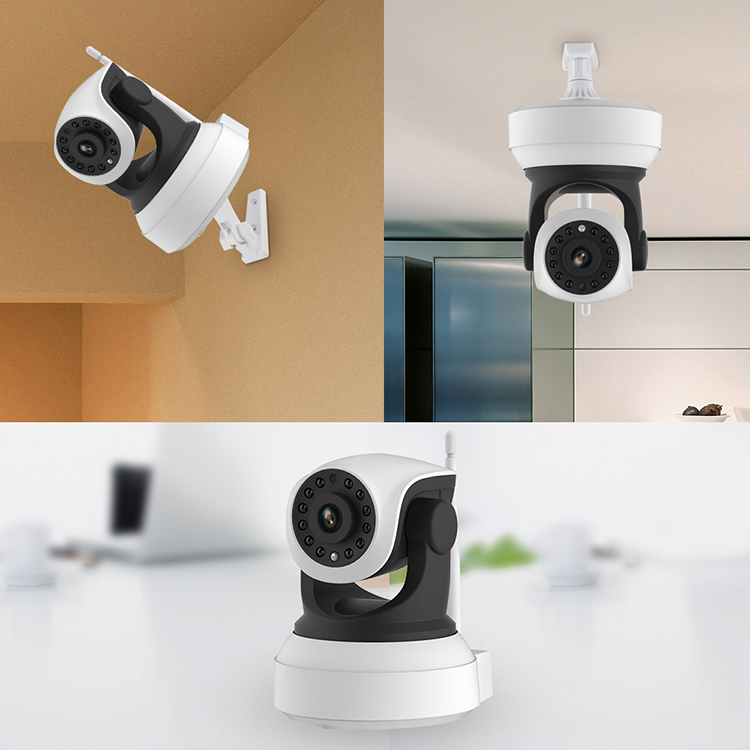 CCTV 720P Camera IR-Cut Night Vision Audio Surveillance LAN WiFi Security IP Camera Infrared