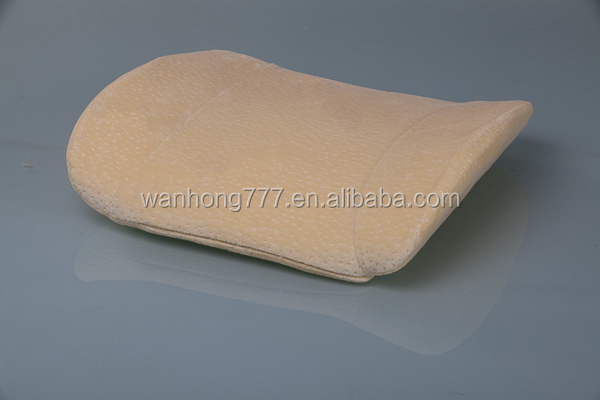 Cushion KW002 100% Polyurethane Visco Elastic Memory Foam Back Support Cushion For Office Chair