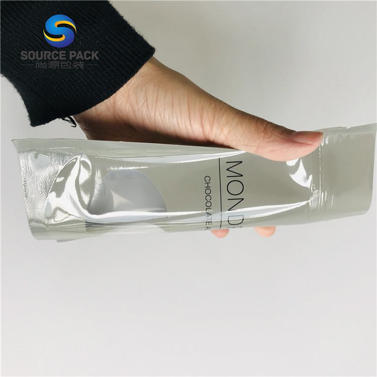 Leakproof Custom Printed Sliver Plastic Food Packing Nylon Retort Pouch/Aluminium Food Bag