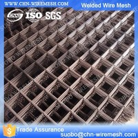 50 X 50Mm Galvanized Steel Wire Mesh Panels Cage Building Supplies Welding Metal Grid