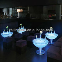 Cool bar/club/party/wedding illuminated used tables and chairs for sale