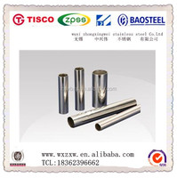High quality 201 Stainless steel round tubes