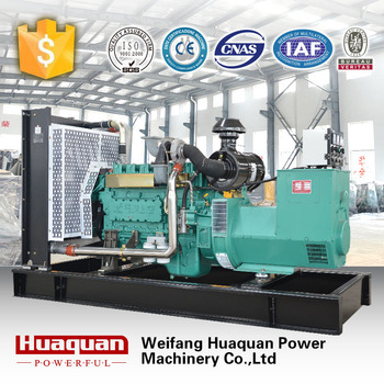 electric generating equipment for standby power generator