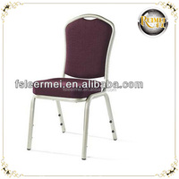Steel stacking banquet dining chair for wedding