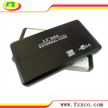 Protable 2.5 USB 2.0 SATA HDD External CASE