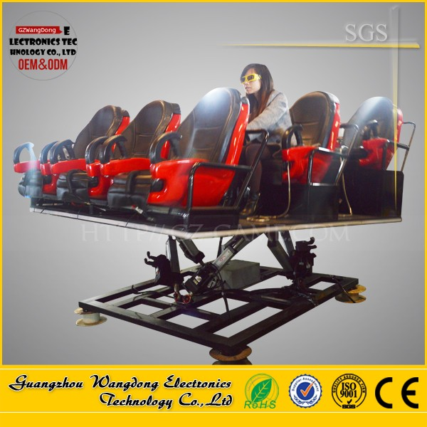 Guangzhou Uruguay upgrading game of 5d 6d/ 7d cinema theater for sale
