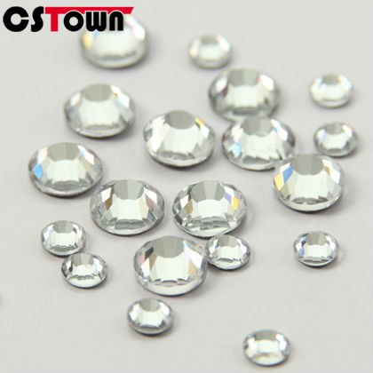 Loose machine cut flatback Korean hotfix rhinestones