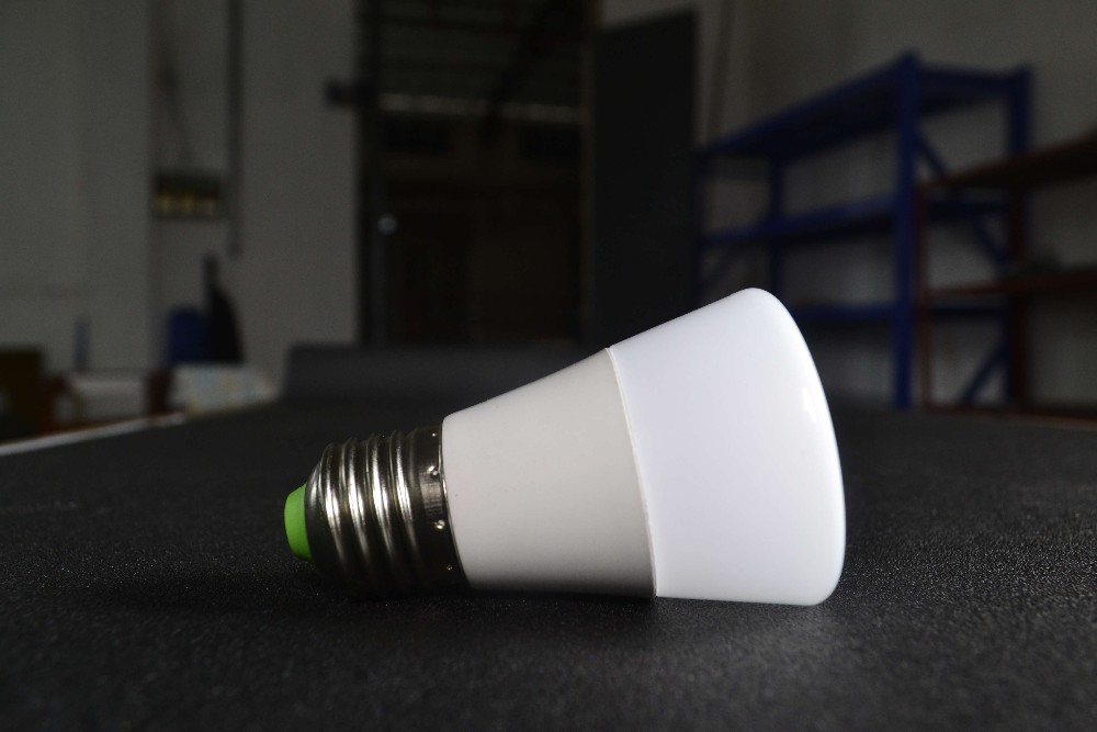 Made in China!!! Plastic black color global 5W 7W e27 led bulb