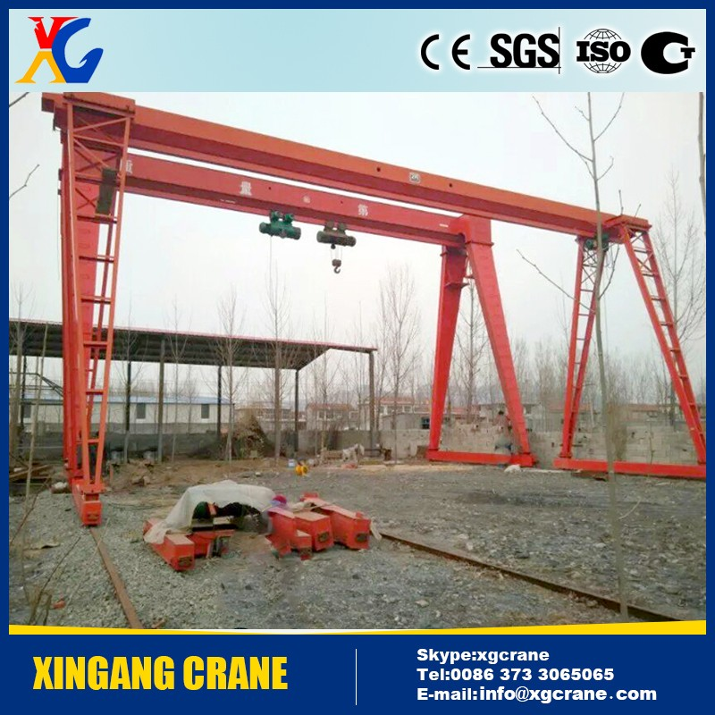5 ton 10 ton Single girder Tracking Movable gantry crane