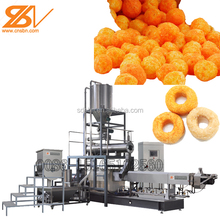 Delicious crispy leisure food extruder plant processing line