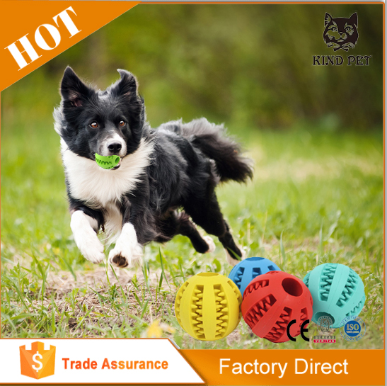 Dog chew rubber ball dog toy