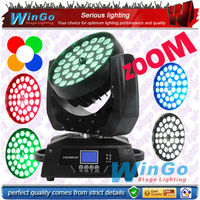 36x15w 5-in-1 rgbaw LED zoom wash moving head light/dj equipment system for disco night club party led lighting