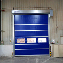 Induction Loops Activating Rapid Door/indoor rapid roll up door/PVC industrial fast shutter