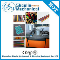 High efficency paper pencil stick making machine with good quality