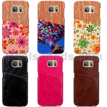 Kickstand Cover for Samsung Galaxy S7 Edge, for Samsung Galaxy S7 Edge Phone Cover, Leather Wallet Case for Samsung Galaxy S7