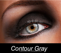 gray eye contact lens natural color lenses korean new design latest style