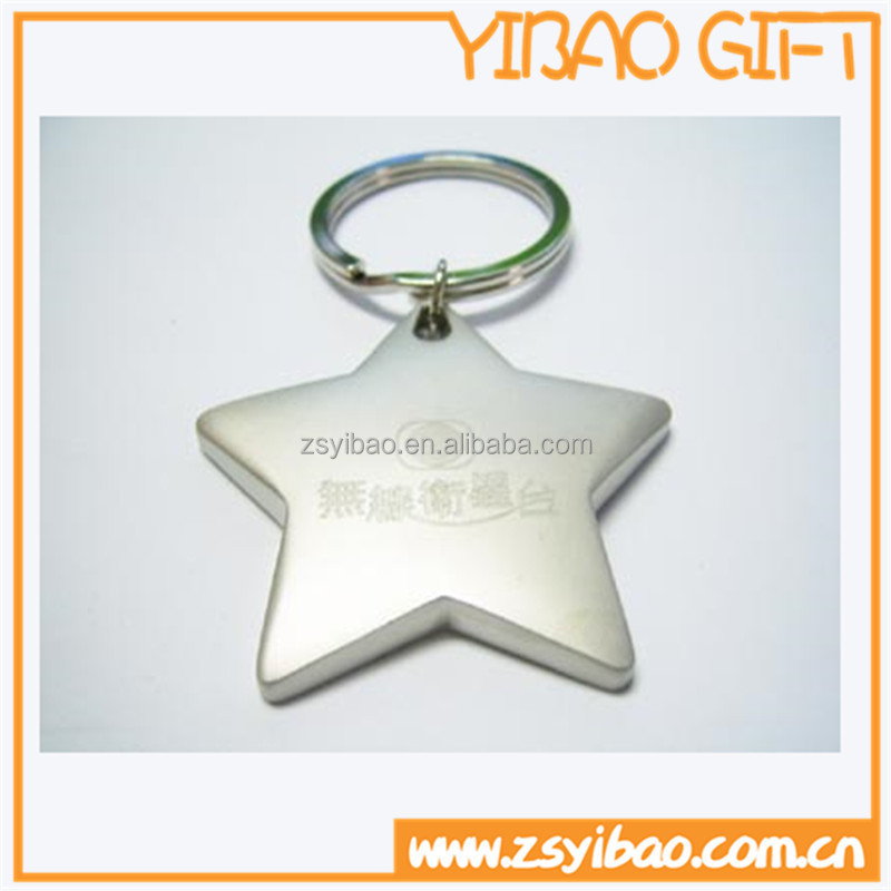2015 top selling high quality laser your custom logo metal keychain