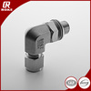 "1/4"" NPT Adjustable Hot Male Elbow SS316 Tube Fittings"