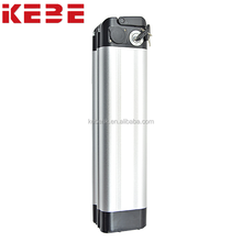 KEBE 2017 factory wholesale high quality 36V24A Silver Fish Electric Bicycle Battery Pack