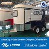 dual axle horse trailer,Horse Trailer Ramp,Horse Float China