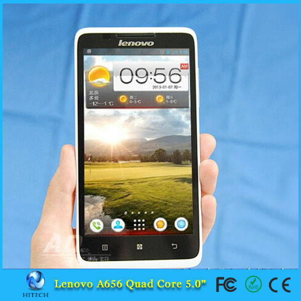 Original Lenovo A656 Mobile Phone Quad Core Android 4.2 5MP Camera 3G Mobile Phone