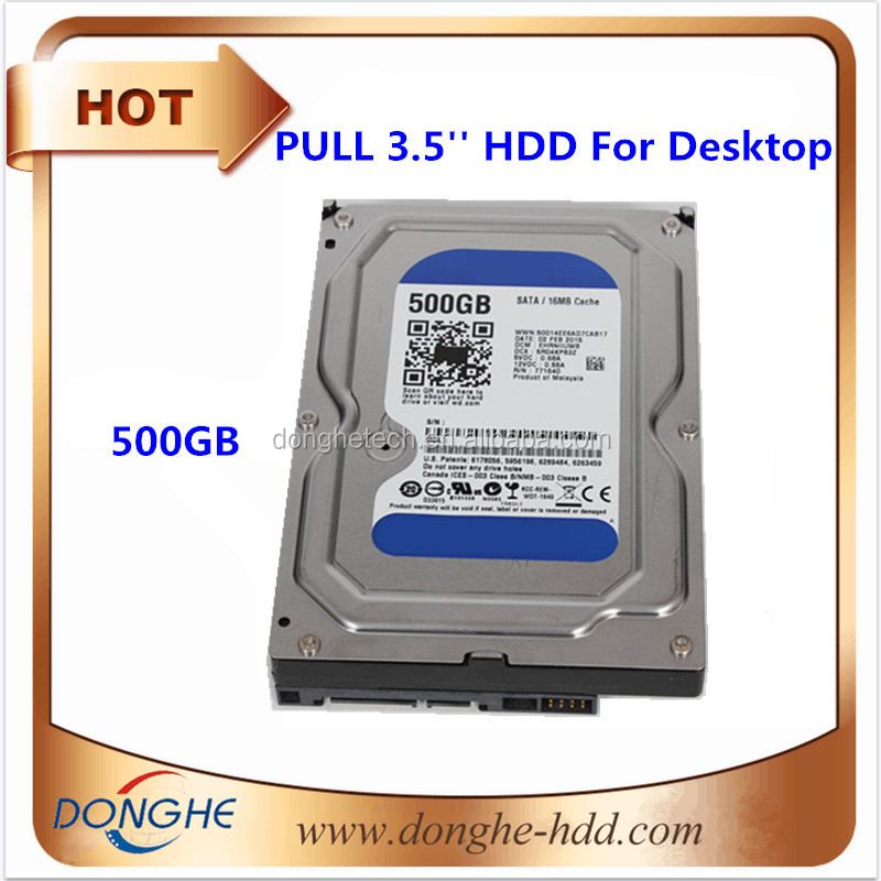 Big stock White label /refurbished/pull 3.5inch Sata HDD internal hard disk drive