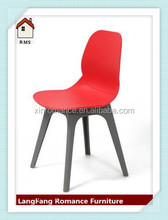 new types bright red color all pp plastic garden chair outdoor