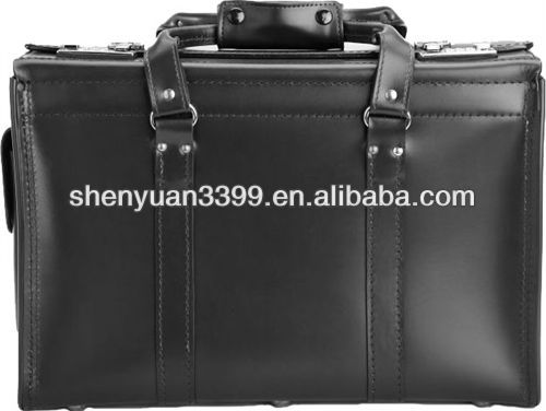 Pilot Case 2013 hot selling genuine leather men's briefcases