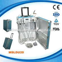 China Manufacturers Portable Dental Unit Hot sale with good pricer(MSLDU19H)