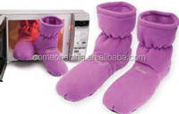 Microwave Heated Boots