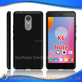 clear Transparent tpu soft cell phone case for Lenovo K6 note tpu cover