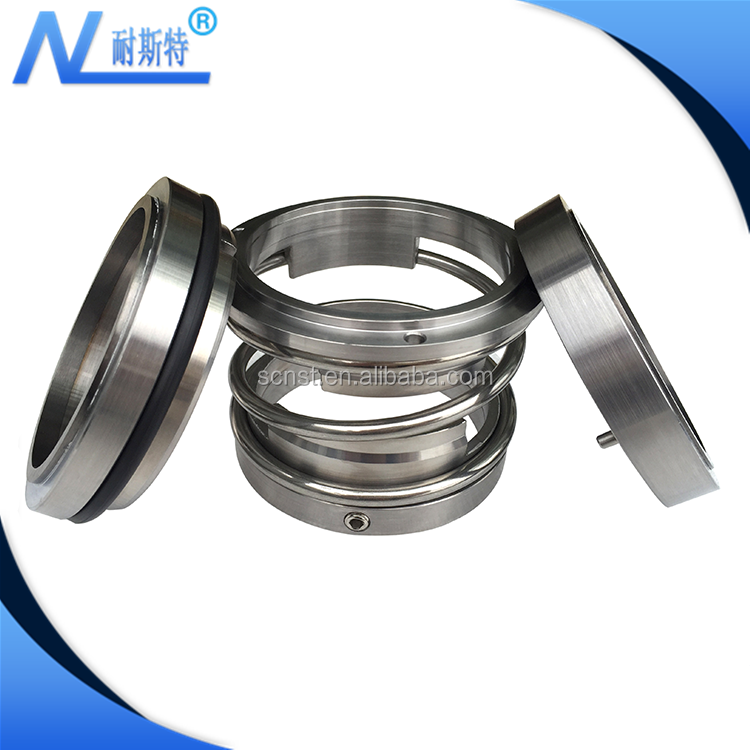 Sichuan NaiSiTe- ZU44 series standard industrial dual face pump mechanical seal with single spring type