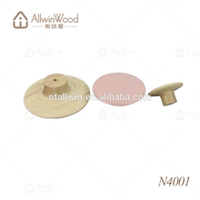 3 Specifications ash wooden creative dot coat hook