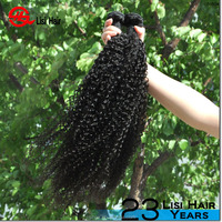 Wholesale human hair Unprocessed virgin brazilian tight curly hair