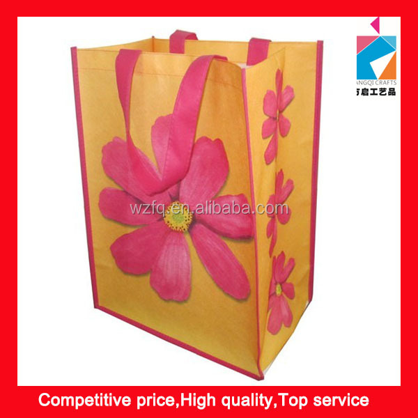 Fashion Recycle Non Woven Boutique Shopping Bag